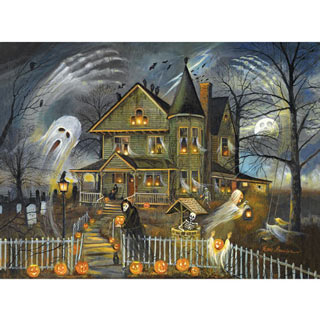 Haunted Haven 1000 Piece Jigsaw Puzzle