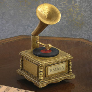 Victrola Music Box  - Personalized