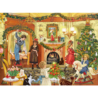 Where Should We Hang The Mistletoe 1000 Piece Jigsaw Puzzle