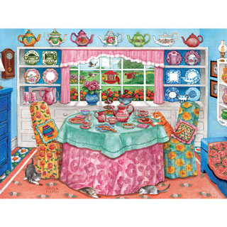 Tea Room 500 Piece Jigsaw Puzzle