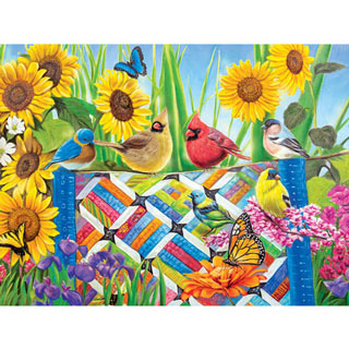 The Quilting Bee 500 Piece Jigsaw Puzzle