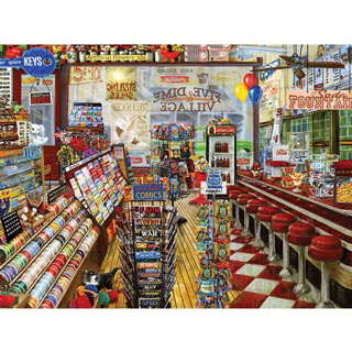 Local Five & Dime 500 Piece Jigsaw Puzzle