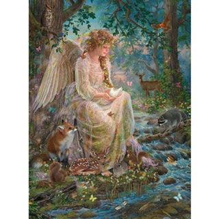 Mother Nature 300 Large Piece Glitter Effects Jigsaw Puzzle