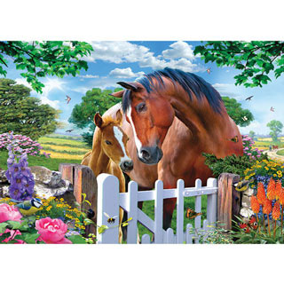 At The Garden Gate 1000 Piece Jigsaw Puzzle