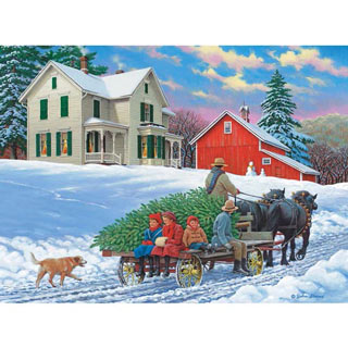Grand Day Out 1000 Piece Wood Jigsaw Puzzle