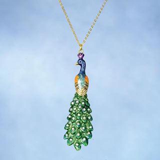 Imperial Peacock Necklace