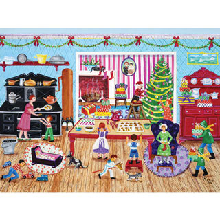 Getting Ready For Christmas 500 Piece Jigsaw Puzzle