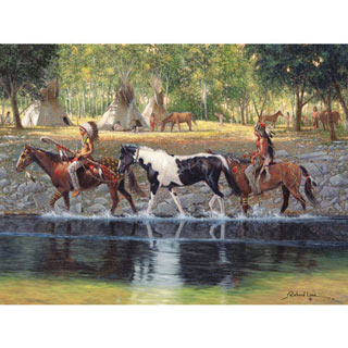 The Prize 300 Large Piece Jigsaw Puzzle