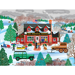 The Warming House 1000 Piece Jigsaw Puzzle