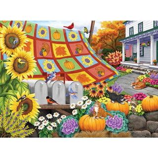 A Fine Fall Day 500 Piece Jigsaw Puzzle