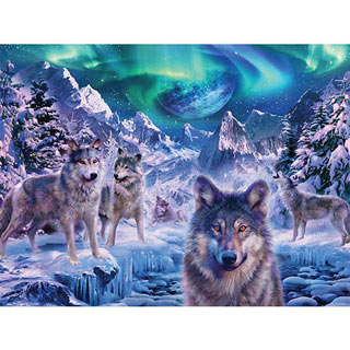 Winter Wolf 1000 Piece Jigsaw Puzzle