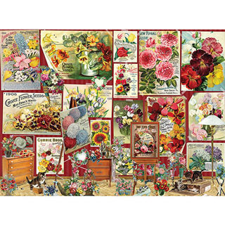 Flower Posters 500 Piece Jigsaw Puzzle