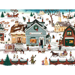 The Village Toymaker 500 Piece Jigsaw Puzzle