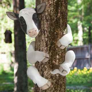 Bessie The Cow Animal Tree Hugger