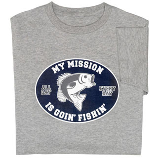 Fishin' Mission Tee