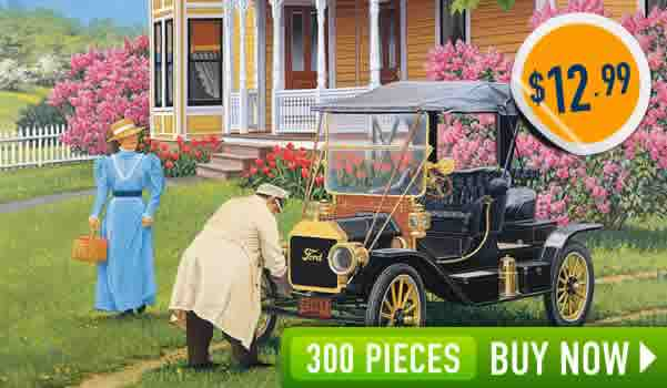 Out For A Drive 300 Large Piece Jigsaw Puzzle