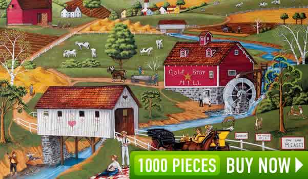 Over Yonder 1000 Piece Jigsaw Puzzle