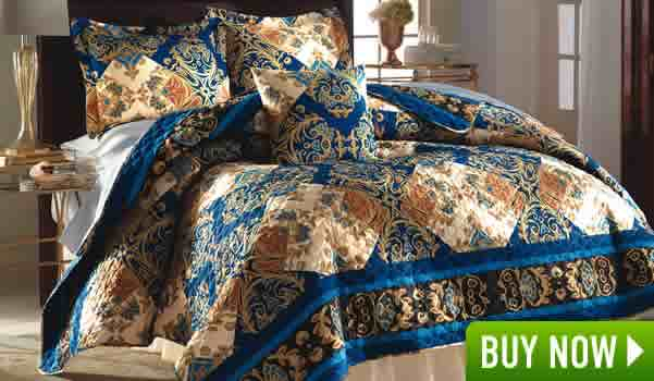 Persian Nights Quilt And Accessories
