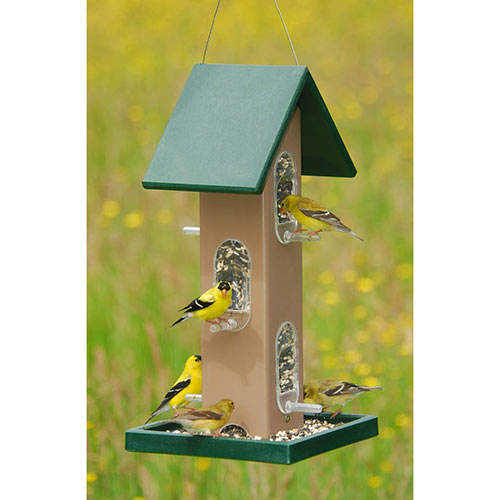 Earth Tone Birdfeeder