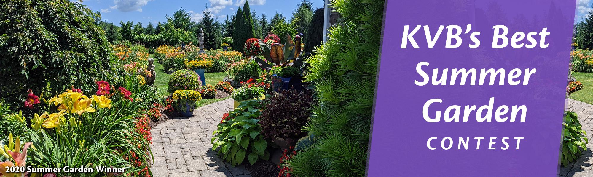 Summer Garden Contest