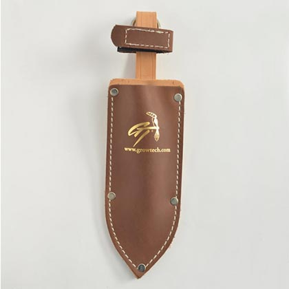 Hori Hori Knife & Leather Sheath