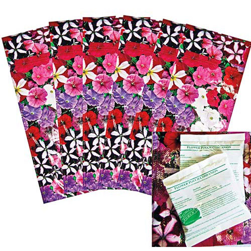 Flower Pouch Kit with Fertilizer
