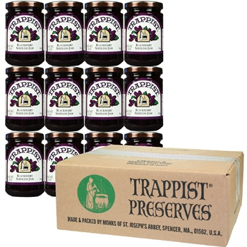 Trappist Preserves - Blackberry Seedless Jam (12-Jar Case)