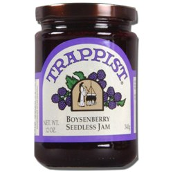 Trappist Preserves - Boysenberry Seedless Jam (By the Case)