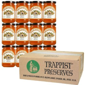 Trappist Preserves - Apricot Preserve (12-Jar Case)