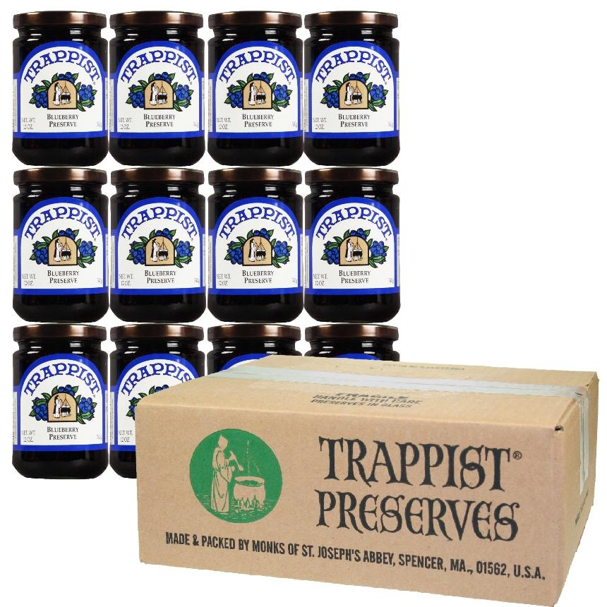 Trappist Preserves - Blueberry Preserve (12-Jar Case)