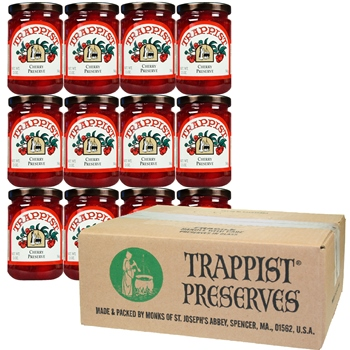 Trappist Preserves - Cherry Preserve (12-Jar Case)