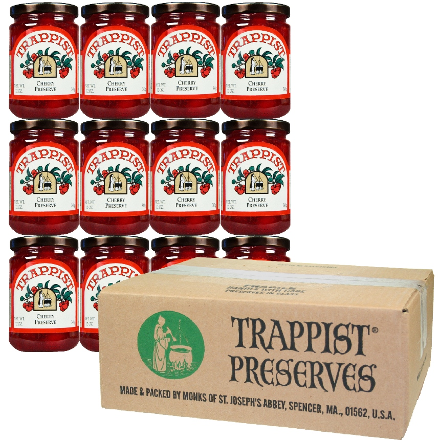 Trappist Preserves - Cherry Preserve (12-Jar Case)