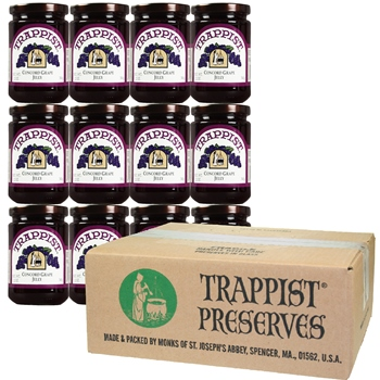 Trappist Preserves - Concord Grape Jelly (12-Jar Case)