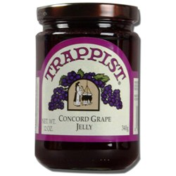 Trappist Preserves - Concord Grape Jelly (By the Case)