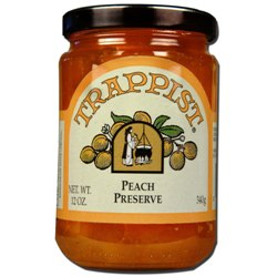Trappist Preserves - Peach Preserve (By the Case)