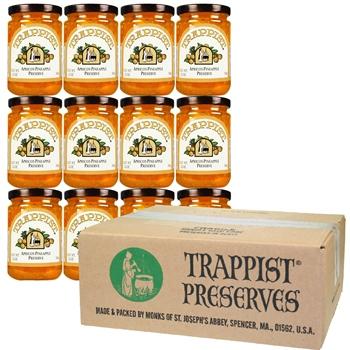 Trappist Preserves - Apricot-Pineapple Preserve (12-Jar Case)