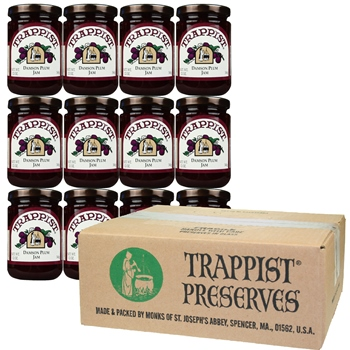 Trappist Preserves - Damson Plum Jam (12-Jar Case)
