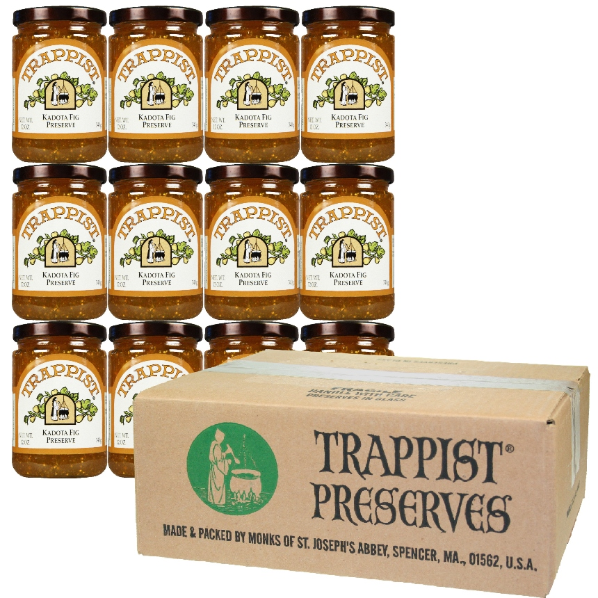 Trappist Preserves - Kadota Fig Preserve (12-Jar Case)
