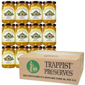 Trappist Preserves - Lemon Marmalade (12-Jar Case)