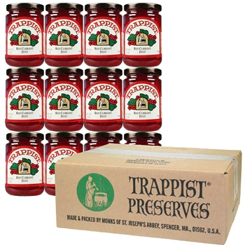 Trappist Preserves - Red Currant Jelly (12-Jar Case)