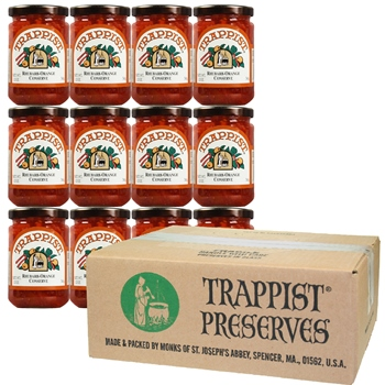 Trappist Preserves - Rhubarb-Orange Conserve (12-Jar Case)