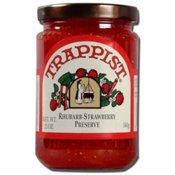 Trappist Preserves - Rhubarb-Strawberry Preserve (By the Case)