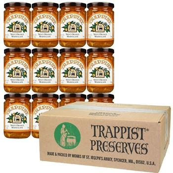Trappist Preserves - Sweet Orange Marmalade (12-Jar Case)