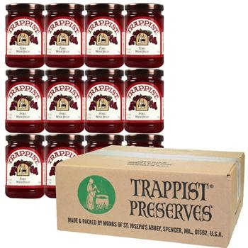Trappist Preserves - Port Wine Jelly (12-Jar Case)