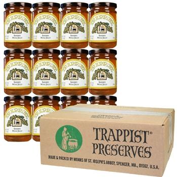 Trappist Preserves - Sherry Wine Jelly (12-Jar Case)