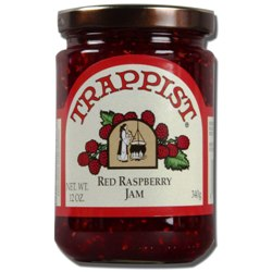 Trappist Preserves - Red Raspberry Jam WITH SEEDS (By the Case)