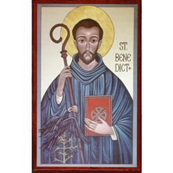 St. Benedict Icon & Cards