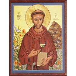 St. Francis Icon & Cards - St. Francis Icon (small)