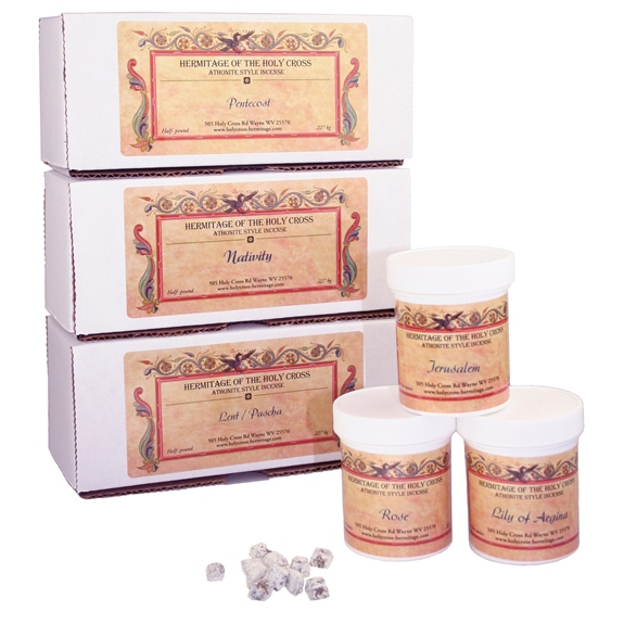 All 3 Holy Cross Incense Samplers
