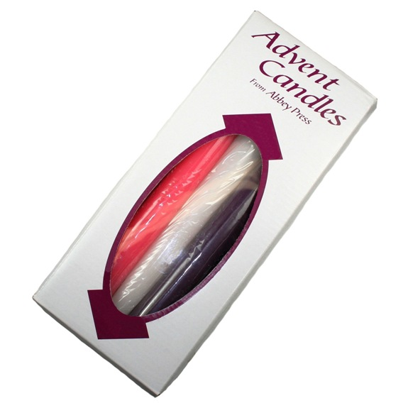 Advent Candles (5 large)